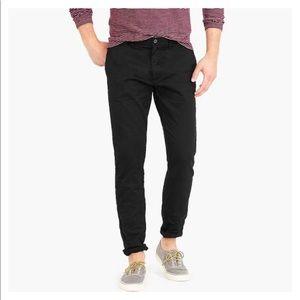 J.Crew Men's 484 Slim-Fit Pant in Black